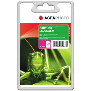 AgfaPhoto APB225MD Remanufactured Tintenpatronen Pack of 1
