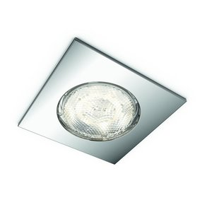 Philips myBathroom LED Einbauspot Dreaminess 5900611P0, 1x500lm, chrom