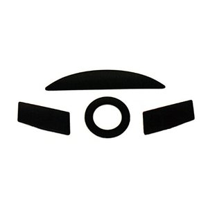 Replacement Parts PTFE Teflon Tape Computer Gaming Mouse Feet Sliders Pads Skates Fast für Razer Taipan ( Pack of 2 , 0.65mm)