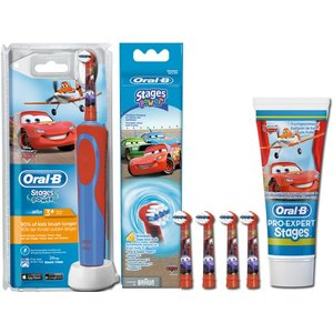 Oral-B Stages Power Cars Set