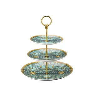 Versace by Rosenthal Etagere 3-tlg. Versace Scala Palazzo Verde