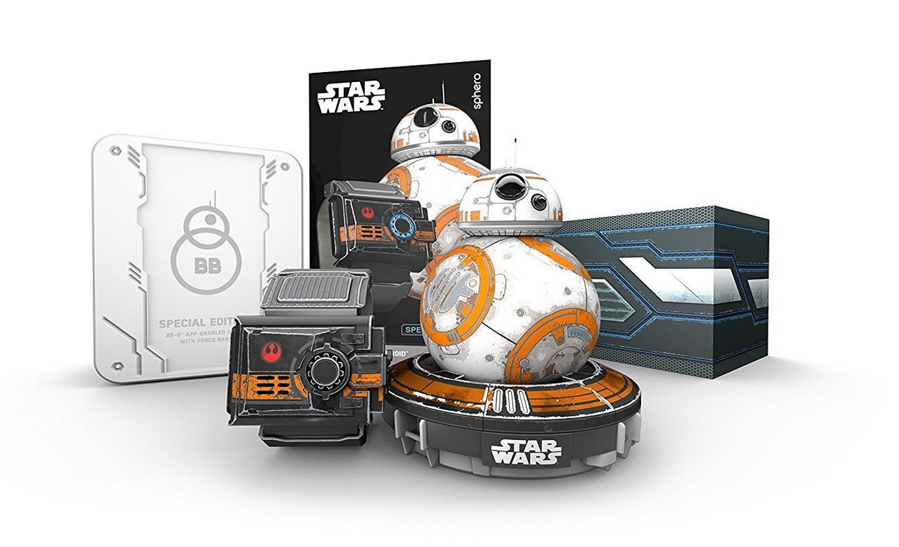 Sphero - BB-8 Droid, Star Wars Roboter + Force Band: Tests & Infos ...