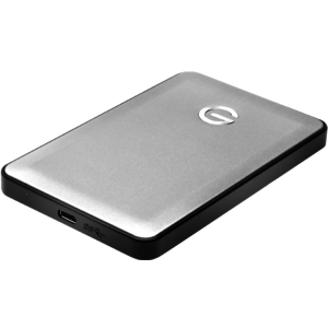 G-Technology G-DRIVE mobile USB-C 1000GB Silber (0G04877)