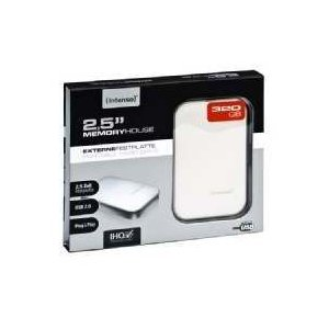 Intenso 6001511 320GB Weiss Memory House