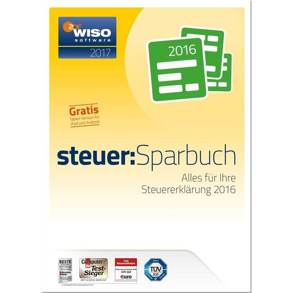 Buhl Data WISO Steuer-Sparbuch 2017 (PC)