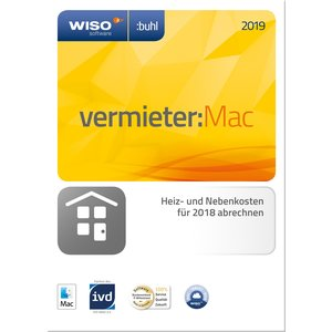 Buhl Data WISO Vermieter:Mac 2019 (PC)