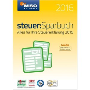 Buhl WISO steuer:Sparbuch 2016 (PC)