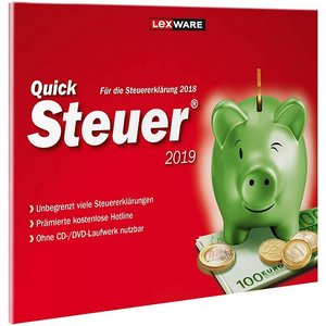QuickSteuer 2019 Vollversion FFP    ( Steuerjahr 2018 )