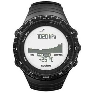 Suunto Core Fitness-Tracker Unisex, 50mm, Kunststoffgehäuse, Regular Black