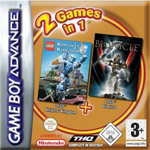 2 Games in 1 - Lego Pack (GBA)