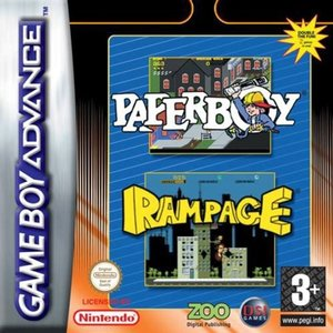 Compilation - Paper Boy/Rampage (GBA)