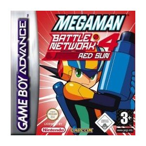 Mega Man - Battle Network 4 Red Sun (GBA)