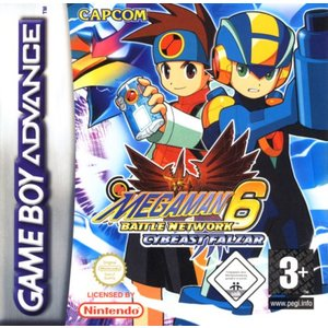 Mega Man - Battle Network 6 Falsa (GBA)