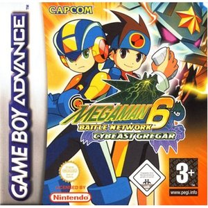 Mega Man - Battle Network 6 Grega (GBA)