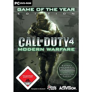 Call of Duty 4 - Modern Warfare: Game of the Year Edition (PC) (USK 18)