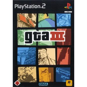 Grand Theft Auto 3 (PS2) (USK 18)