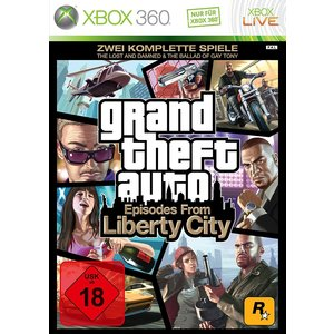 Grand Theft Auto - Episodes from Liberty City (The Lost and the Damned & The Ballad of Gay Tony) (Xbox 360) (USK 18)