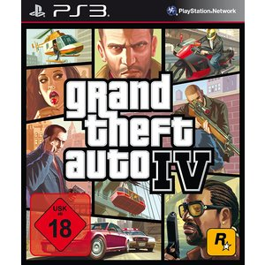 Grand Theft Auto IV - Uncut [SWP] (PS3) (USK 18)