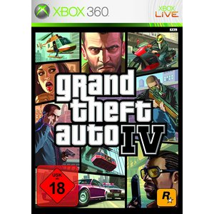 Grand Theft Auto IV (Uncut) (Xbox 360) (USK 18)