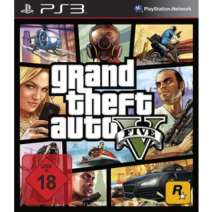 Grand Theft Auto V (PS3) (USK 18)