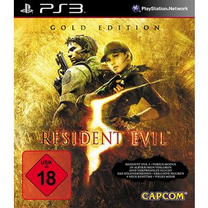 Resident Evil 5 - Gold Edition (PS3) (USK 18)