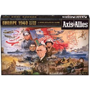 Avalon Hill - Axis & Allies Europe 1940 2nd Edition (englisch)