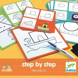Djeco - Eduludo: Step By Step Géo and Co