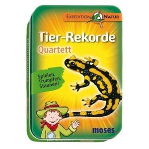 Expedition Natur Quartett: Quartett - Tierrekorde