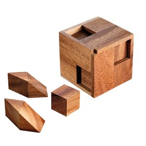 Philos 3554 - Hexahedroom, Knobelspiel, Holz