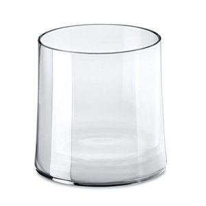 Koziol Cheers Tumbler Glas, Trinkglas, Crystal Clear, 250 ml, 3404535