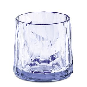 koziol Glas 250 ml CLUB NO. 2, Superglas, transparent aquamarine