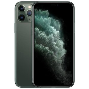 Apple iPhone 11 Pro Smartphone 14,73cm (5,8 Zoll) Super Retina XDR-Display, 256GB interner Speicher, 6GB RAM, Dual-SIM, iOS, Midnight Green