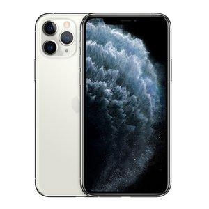 Apple iPhone 11 Pro Smartphone 14,73cm (5,8 Zoll) Super Retina XDR-Display, 256GB interner Speicher, 6GB RAM, Dual-SIM, iOS, Silver