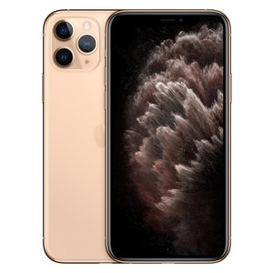 Apple iPhone 11 Pro Smartphone 14,73cm (5,8 Zoll) Super Retina XDR-Display, 64GB interner Speicher, 6GB RAM, Dual-SIM, iOS, Gold
