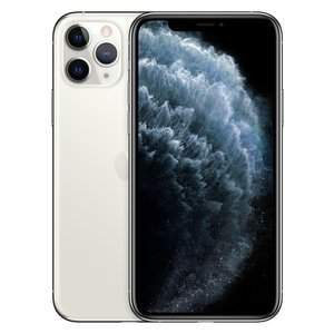 Apple iPhone 11 Pro Smartphone 14,73cm (5,8 Zoll) Super Retina XDR-Display, 64GB interner Speicher, 6GB RAM, Dual-SIM, iOS, Silver
