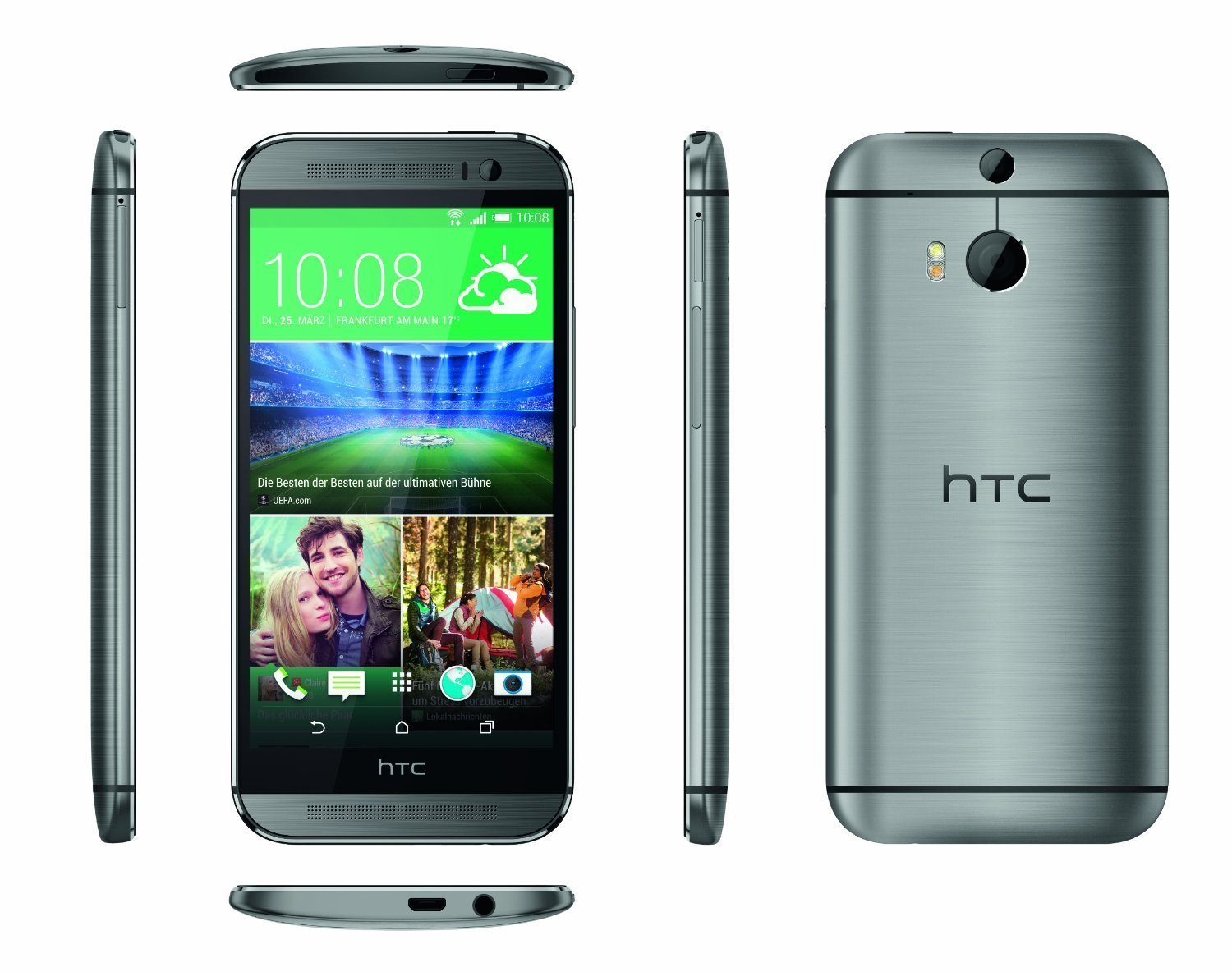 htc one m8 16gb grau 44 tests infos. Black Bedroom Furniture Sets. Home Design Ideas