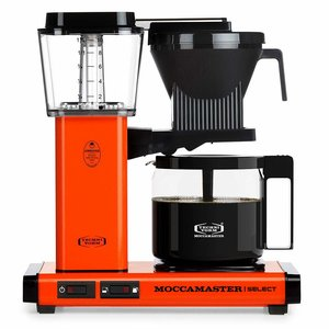 Moccamaster Filter Kaffeemaschine KBG Select, 1.25 Liter, 1520 W, Orange