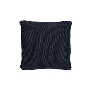 Marc O'Polo Home Nordic Knit Zierkissen Indigo Blue, 50x50