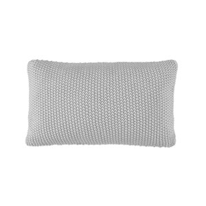 Marc O'Polo Home Nordic Knit Zierkissen Silver, 30x60