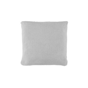 Marc O'Polo Home Nordic Knit Zierkissen Silver, 50x50
