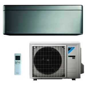 Daikin Klimaanlage R32 Stylish 3,4 kW SET Silber (FTXA35AS-RXA35A-SET)