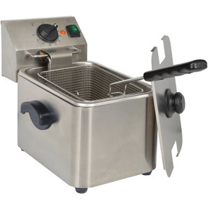 Kitchen Chef hdf4 Pro Fritteuse Edelstahl 4 l