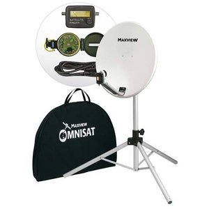Maxview Portable-Sat-Kit 54cm inkl. Receiver