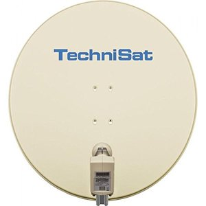 TechniSat SATMAN 850 mit 40mm Twin-LNB beige