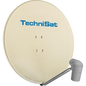 TechniSat Satman 850 Plus mit UNYSAT Quattro Switch LNB beige