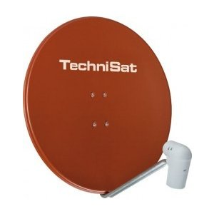 TechniSat SATMAN 850 Plus mit UNYSAT Quattro Switch LNB rot
