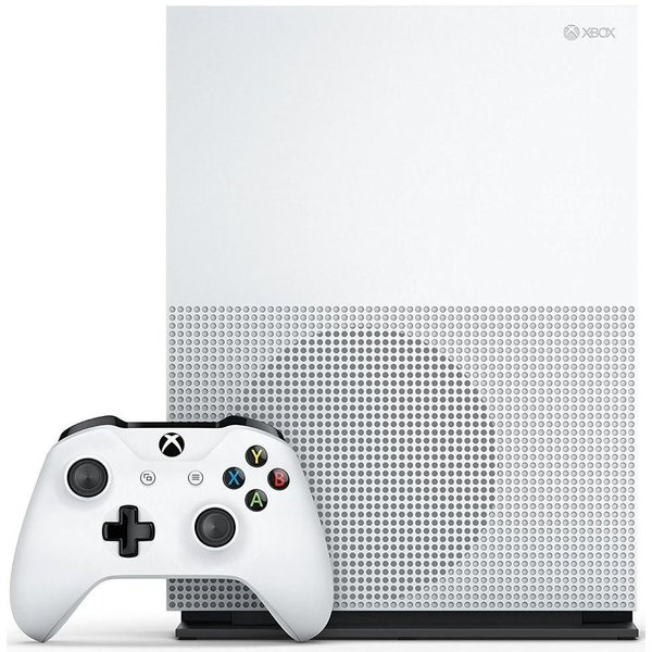 Microsoft Xbox One S Robot White 500GB Bundle inkl. Assassin's Creed Origins