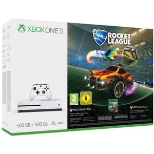 Microsoft Xbox One S Robot White 500GB Bundle inkl. Rocket League
