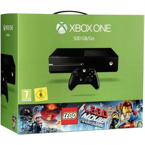 Microsoft Xbox One Schwarz 500GB Bundle inkl. The Lego Movie Videogame