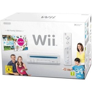 Nintendo Wii Family Edition Weiß 512MB Bundle inkl. Wii Sports + Wii Party